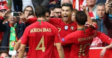هاتريك رونالدو يقود البرتغال إلى نهائي دوري الأمم الأوروبية على حساب سويسرا
