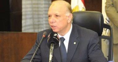 """محافظ القاهرة:إنشاء عدد من كبارى المشاة بـ """"سلالم متحركة مصاعد """""""