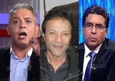 حبس معتز مطر ومحمد ناصر وهشام عبد الله 3 سنوات في «التحريض على الدولة»