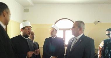 بالصور.. وزير الأوقاف يفتتح مسجد الفردوس فى حى فيصل بالسويس