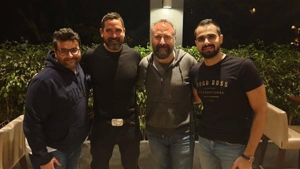 أمير كرارة يستقبل النجم التركى خالد أرجنيش فى أول أيام تصوير كازابلانكا