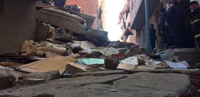 """""""التضامن"""": ارتفاع أعداد الأسر المتضررة من سقوط صخرة منشية ناصر لـ40"""