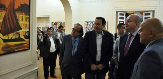 """افتتاح معرض """"حكايات الشعراوي"""" بالمركز الثقافي الروسي"""