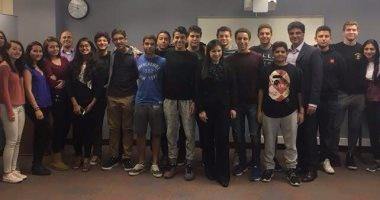وزيرة الاستثمار تحفز طلاب المدرسة الأمريكية بالقاهرة على ريادة الأعمال