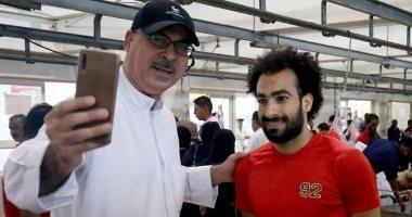 فيديو وصور.. شبيه محمد صلاح بالكويت يثير الإعجاب على السوشيال ميديا