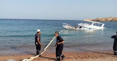 إنقاذ 30 سائحا ألمانيا بعد تعرض لنش سياحى للغرق أثناء رحلة بحرية بالغردقة