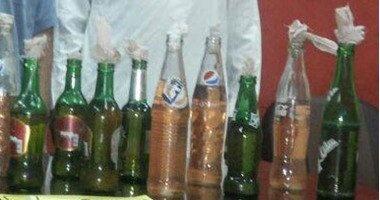 ضبط مسجل خطر ألقى زجاجة مولوتوف فى الطريق العام وعاطلين بالإسكندرية