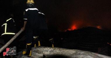 السيطرة على حريق اندلع فى شقة بببنى سويف دون وقوع إصابات