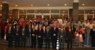 صور.. محافظ جنوب سيناء يلتقى بوفد الدارسين بكلية الحرب العليا
