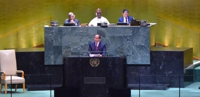 السيسي: مصر أطلقت مفاوضات لأربع سنوات حول سد النهضة ولم تفض لنتائج