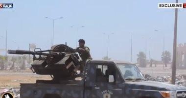 العربية: الجيش الليبى يدخل مدينة غريان جنوب طرابلس
