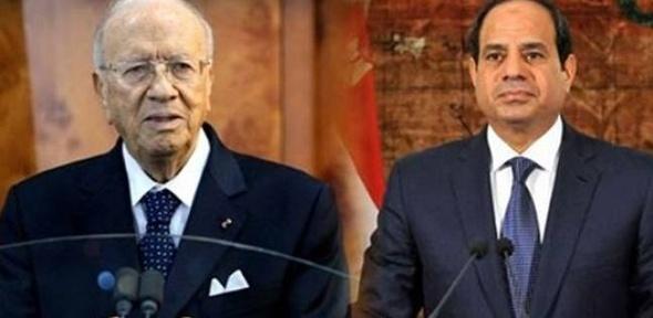 """الرئيس التونسي يدعو """"السيسي"""" لحضور مؤتمر الاقتصادي في بلاده"""