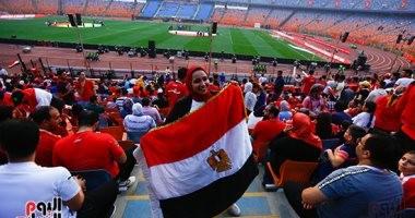 شاهد بدء توافد الجماهير على استاد القاهرة لحضور حفل افتتاح أمم أفريقيا