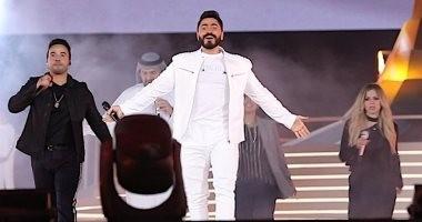 فيديو وصور.. تامر حسني يتألق فى حفل الأوليمبياد بالإمارات وسط إعجاب الجمهور