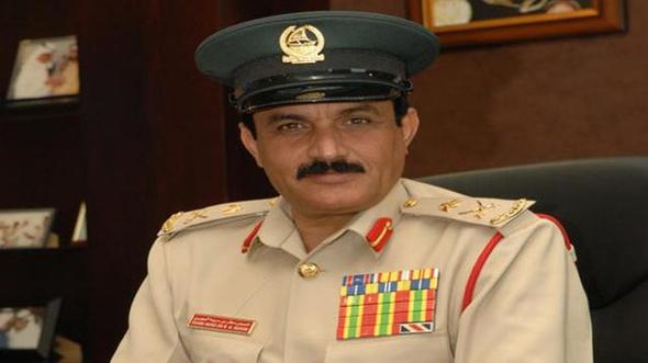 وفاة الفريق خميس مطر قائد عام شرطة دبي