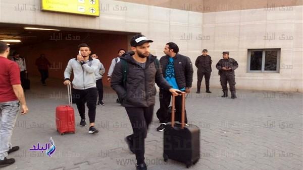 شاهد.. أول صور لوصول بعثة الأهلي للقاهرة بعد خسارة اللقب الأفريقي