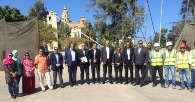 نواب الإسكندرية يتابعون أعمال تطوير قصر السلاملك