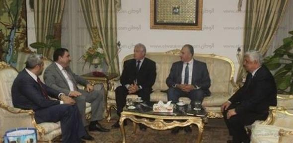 بالصور| فودة يبحث سبل تنشيط السياحة مع سفير أذربيجان الجديد بالقاهرة