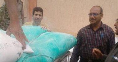 تموين الشرقية يضبط 2.300 طن دقيق مدعم قبل بيعها بالسوق السوداء