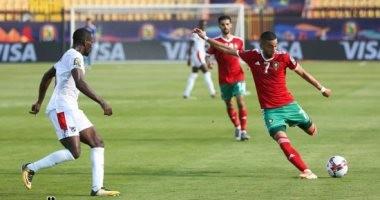المغرب يرفع شعار النصر ضد بنين فى افتتاح ثمن نهائي أمم أفريقيا