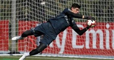 أخبار ريال مدريد اليوم عن ظهور كورتوا لأول مرة أمام جيرونا
