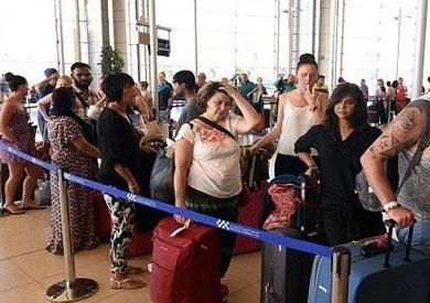 وصول 8 آلاف سائح إلى الغردقة على متن 48 رحلة دولية
