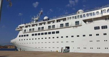 وصول أولى السفن السياحية لميناء شرم الشيخ وعلى متنها 400 سائح من جنسيات مختلفة