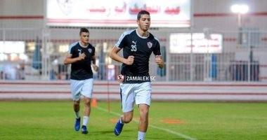 محمود حسن لاعب الزمالك يتعرض للإصابة بالصليبى فى معسكر أكتوبر