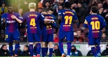 برشلونة يستهدف تعزيز صدارته للدورى الإسبانى أمام مالاجا الليلة