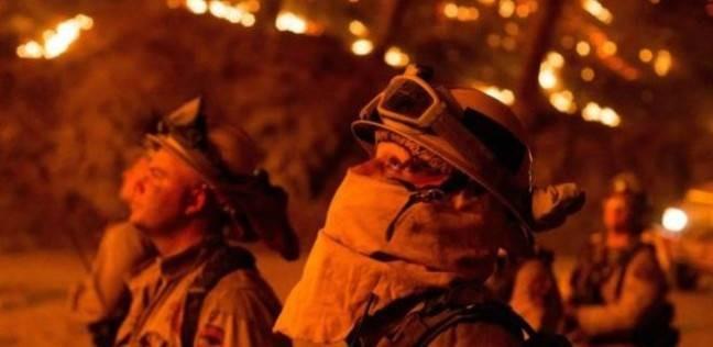 قتيل سابع جراء حرائق كاليفورنيا