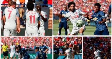 ليفربول يكتسح مانشستر يونايتد برباعية فى كأس الأبطال الودية بمشاركة صلاح