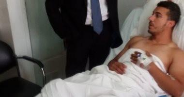 القوى العاملة تتابع تعويض صياد مصرى أصيب أثناء عملة باليونان