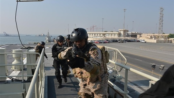 """اختتام تمرين """"جسر 17"""" البحري للقوات السعودية والبحرينية"""