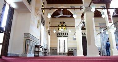 تعرف على أعمال الترميم للجامع العباسى فى بورسعيد قبل افتتاحه.. صور