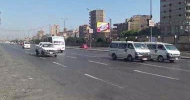 النشرة المرورية.. انتظام حركة السيارات بمحاور القاهرة والجيزة