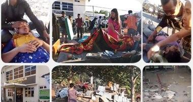 إندونيسيا تعلن ارتفاع عدد قتلى زلزال لومبوك لـ 91 شخصا