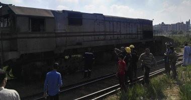 مصدر بالسكة الحديد حادث قطار القاهرة طنطا نتيجة خطأ السائق وفر هاربا
