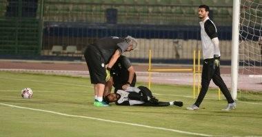 """صورة .. رسالة حارس الأهلى لـ"""" جنش """" بعد الإصابة فى المنتخب"""