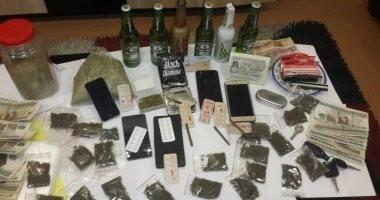 مكافحة المخدرات تضبط عاطلا وراء تصنيع الفودو والاستروكس داخل منزله بالسلام