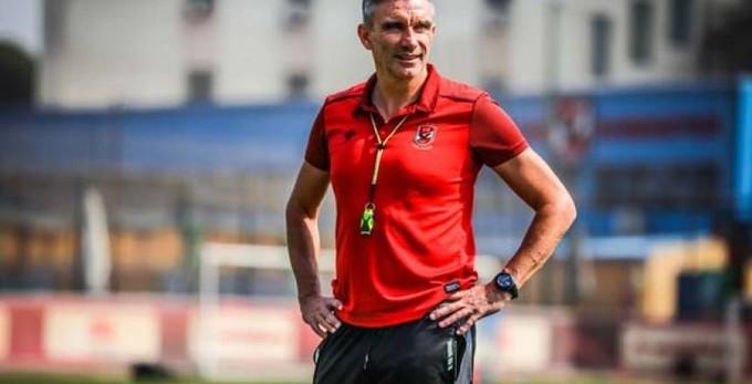 كارتيرون: المصري فريق جدير بالاحترام .. ولكننا نسعي للفوز بأول 3 نقاط