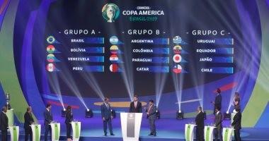 """تعرف على نتائج قرعة كوبا أمريكا """"البرازيل 2019"""""""