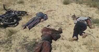 النيابة والطب الشرعى يناظران جثامين 13 إرهابياً بمستشفى أسيوط الجامعى