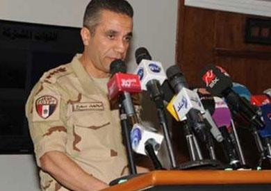 المتحدث العسكرى: مقتل 6 تكفيريين واستشهاد 4 من الجيش ضمن عملية «حق الشهيد»