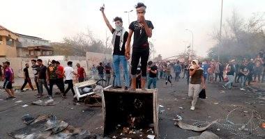 مقتل متظاهر وإصابة 14 فى احتجاجات عنيفة بالبصرة