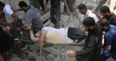 مقتل 9 مدنيين فى قصف بالبراميل المتفجرة شرقى حلب
