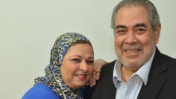 زوجة الفنان صبري عبد المنعم: أول مرة شوفته خوفت يقول عليا طرشة