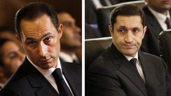 """""""النقض"""" تنظر الطعن على إخلاء سبيل نجلي مبارك في """"قصور الرئاسة"""""""