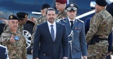 صور.. الحريرى يصل احتفالات عيد الاستقلال فى بيروت