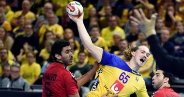 هزيمة الفراعنة أمام السويد فى الدقائق الأخيرة بافتتاح مشواره بمونديال اليد