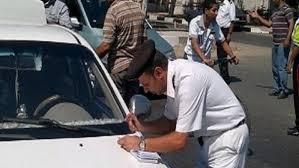 تحرير 1032 مخالفة مرورية وتحصيل 60 ألف جنيه غرامات فورية بطنطا والمحلة